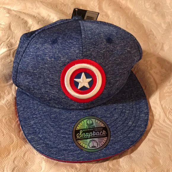 e95b3f90796 Captain America Baseball Cap -NEW!